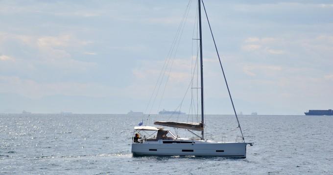 Boat rental Gouvia cheap Dufour 390 Grand Large
