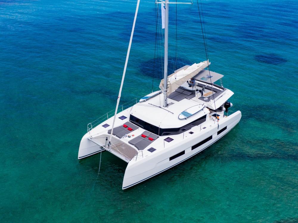 Rental yacht Lefkada - Dufour Dufour 48 Catamaran on SamBoat