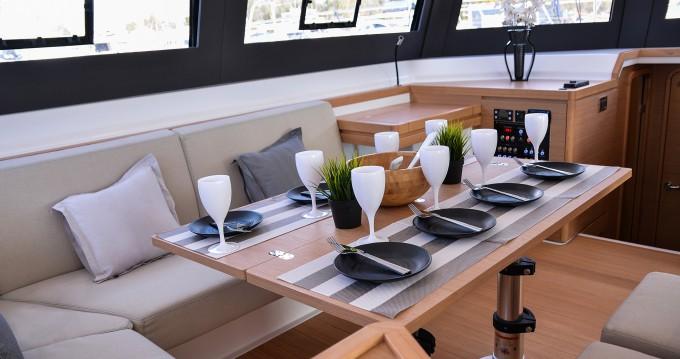 Rental Catamaran Dufour with a permit