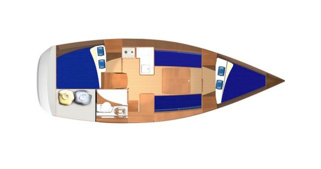 Dufour Dufour 325 between personal and professional Izola