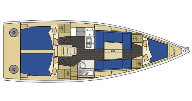 Rental yacht Izola - Elan Elan 350 on SamBoat