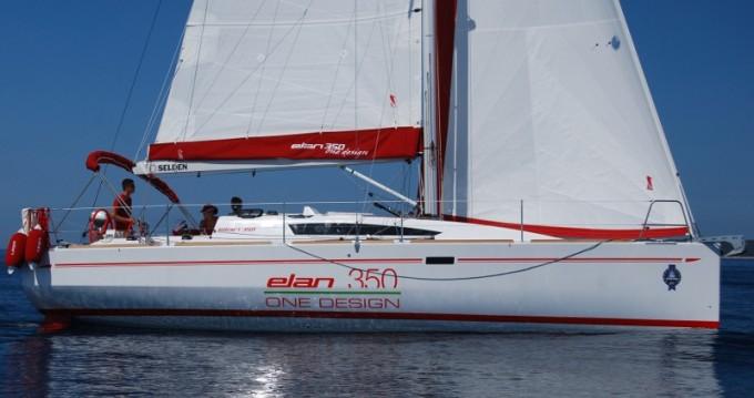 Boat rental Elan Elan 350 in Izola on Samboat