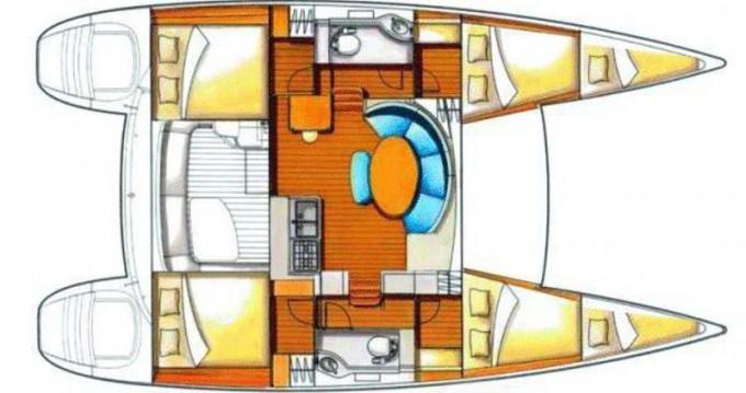 Boat rental Sant Antoni de Portmany cheap Lagoon 380 S2