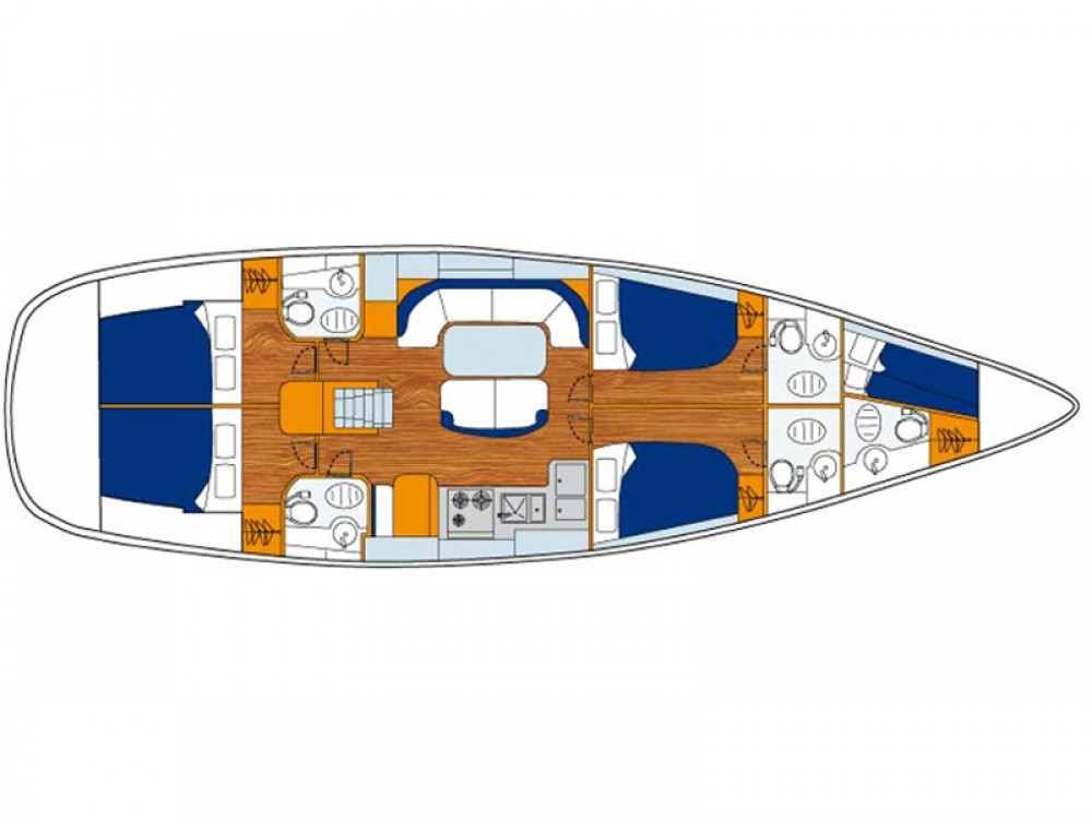 Rental yacht Alimos Marina - Bénéteau Oceanis 50 Performance on SamBoat