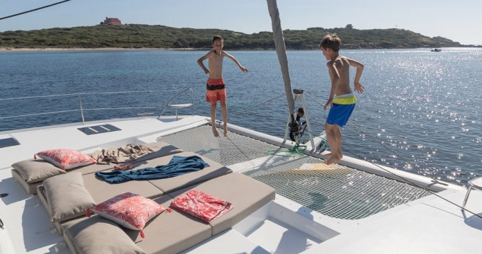 Fountaine Pajot Saona 47 between personal and professional Alimos