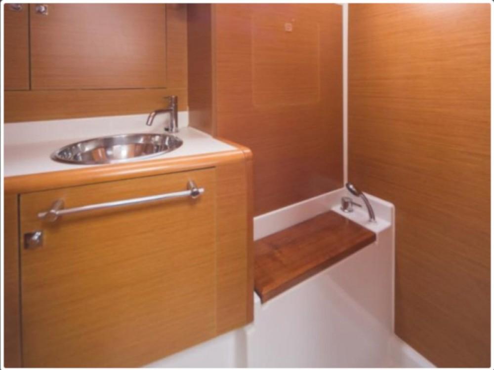 Boat rental Lefkada cheap Sun Odyssey 439