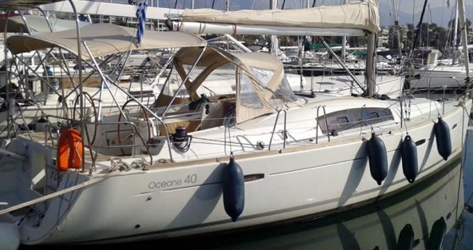 Boat rental Eleusis cheap Oceanis 40