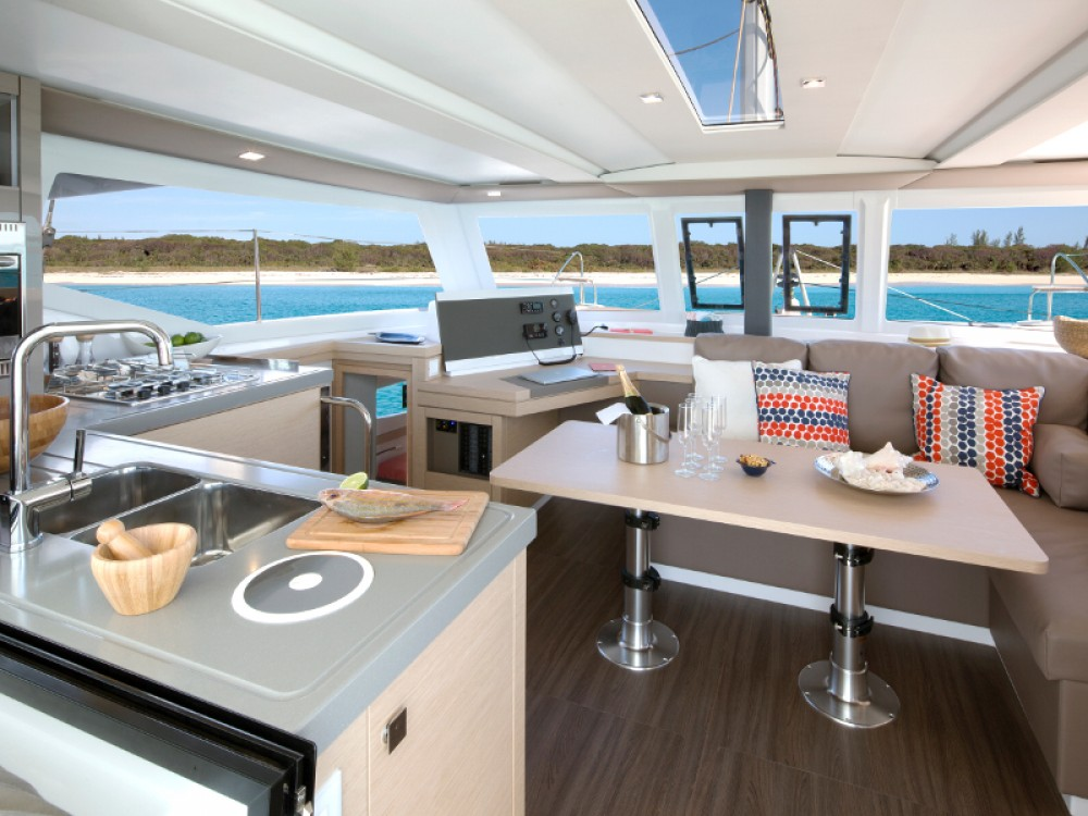 Rental yacht  - Fountaine Pajot Fountaine Pajot Lucia 40 on SamBoat