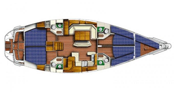 Boat rental Jeanneau Sun Odyssey 52.2 in Sukošan on Samboat