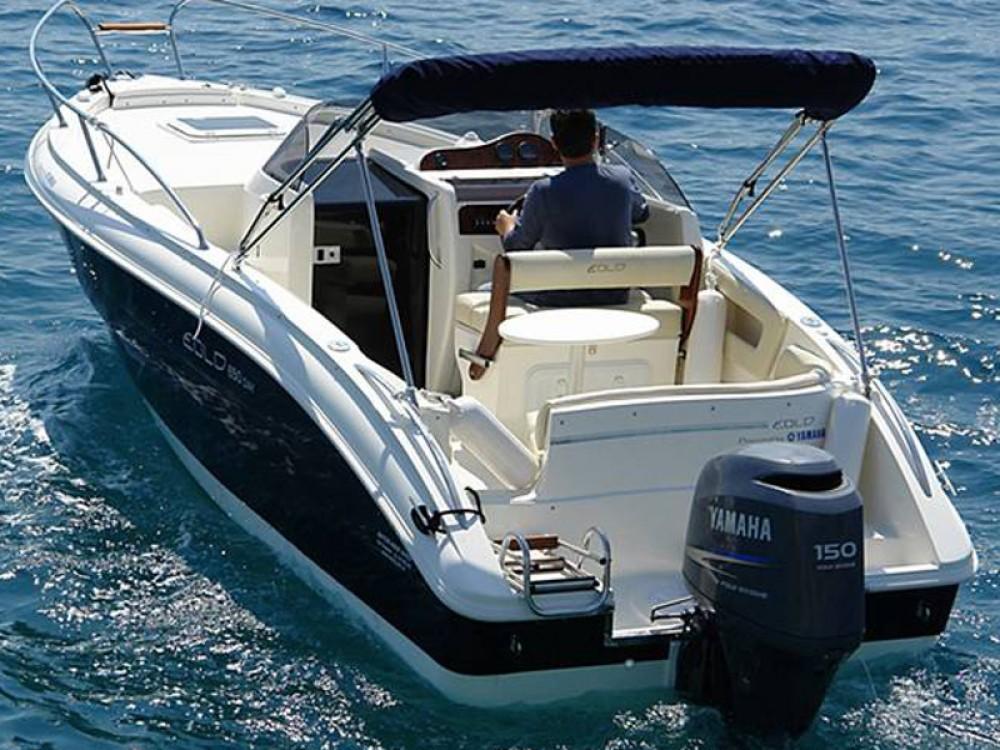 Boat rental Trogir cheap Eolo 650