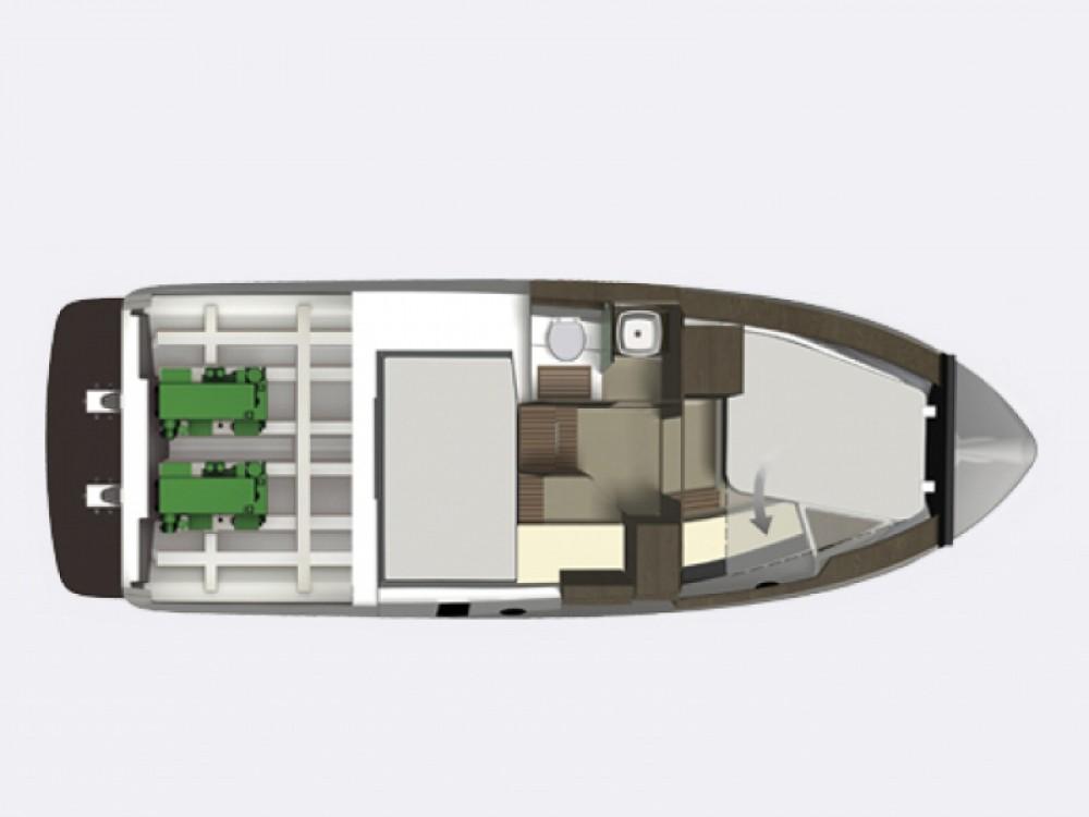 Boat rental Trogir cheap Grandezza 34 OC