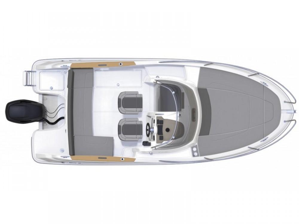 Rental Motorboat in Trogir - Jeanneau Jeanneau Cap Camarat 6.5 WA S2
