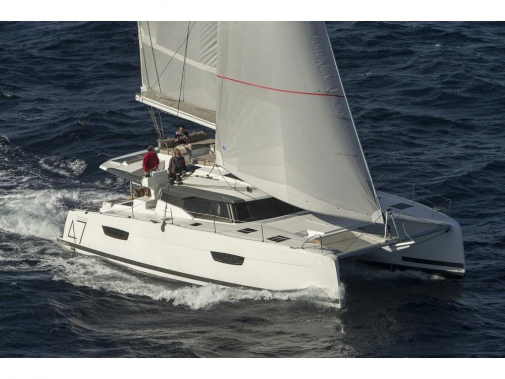 Rental yacht Castiglioncello - Fountaine Pajot Fountaine Pajot Saona 47 on SamBoat