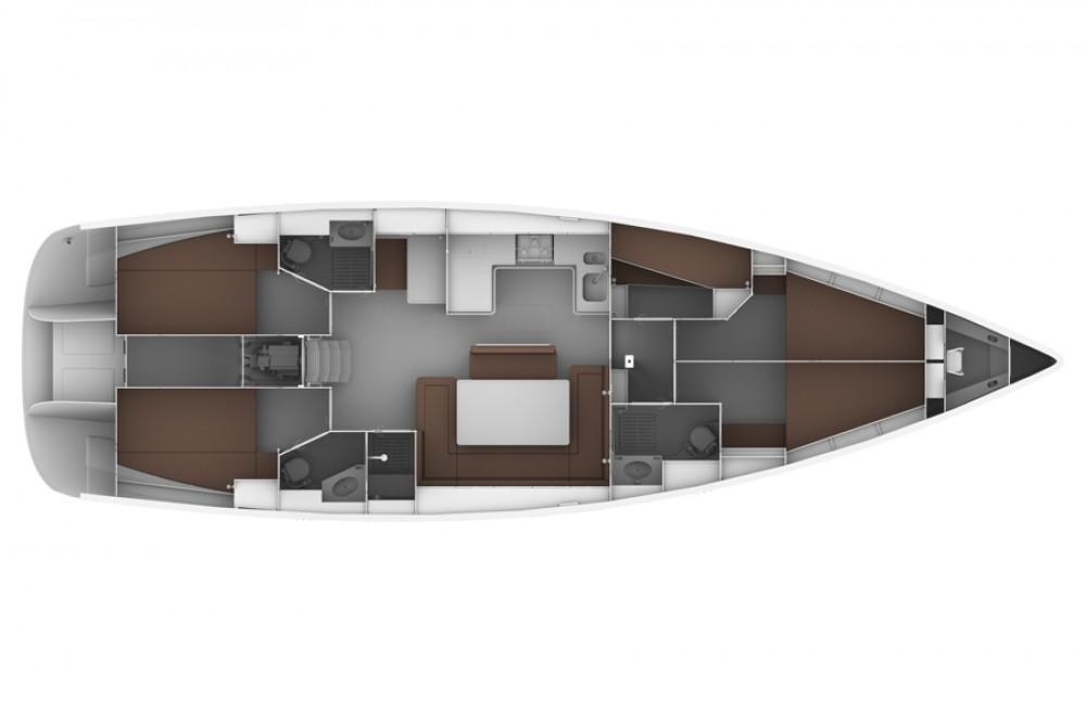Rental yacht Općina Sukošan - Bavaria Bavaria 50 BT '12 on SamBoat