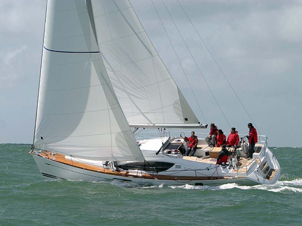 Jeanneau Sun Odyssey 45 between personal and professional Fezzano