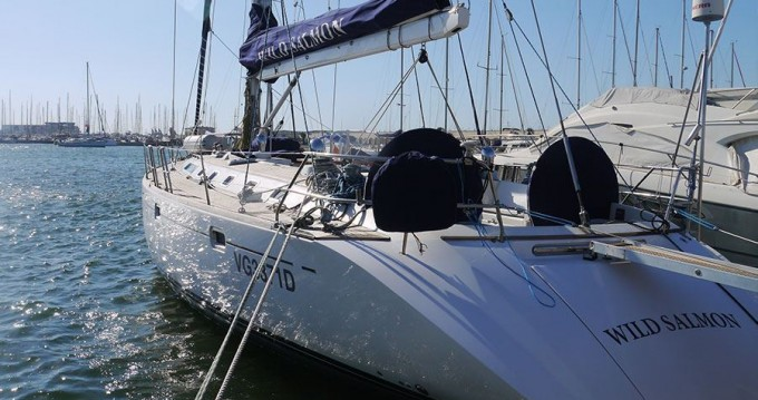 Hire Sailboat with or without skipper Cnb Gaeta