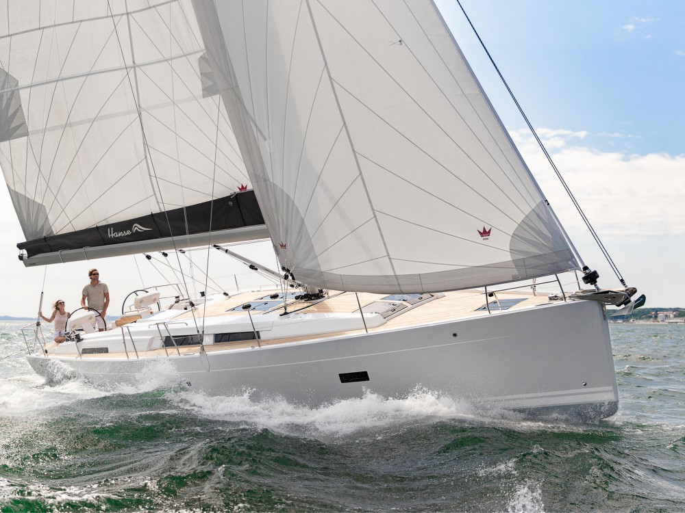 Boat rental Álimos cheap Hanse 458