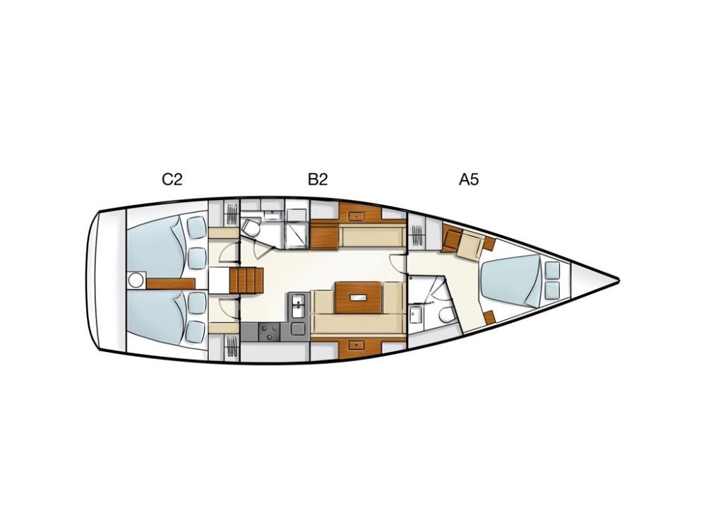 Boat rental Álimos cheap Hanse 430