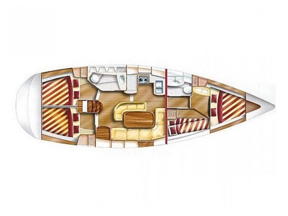 Rental yacht Krk - Dufour Gib Sea 43 on SamBoat