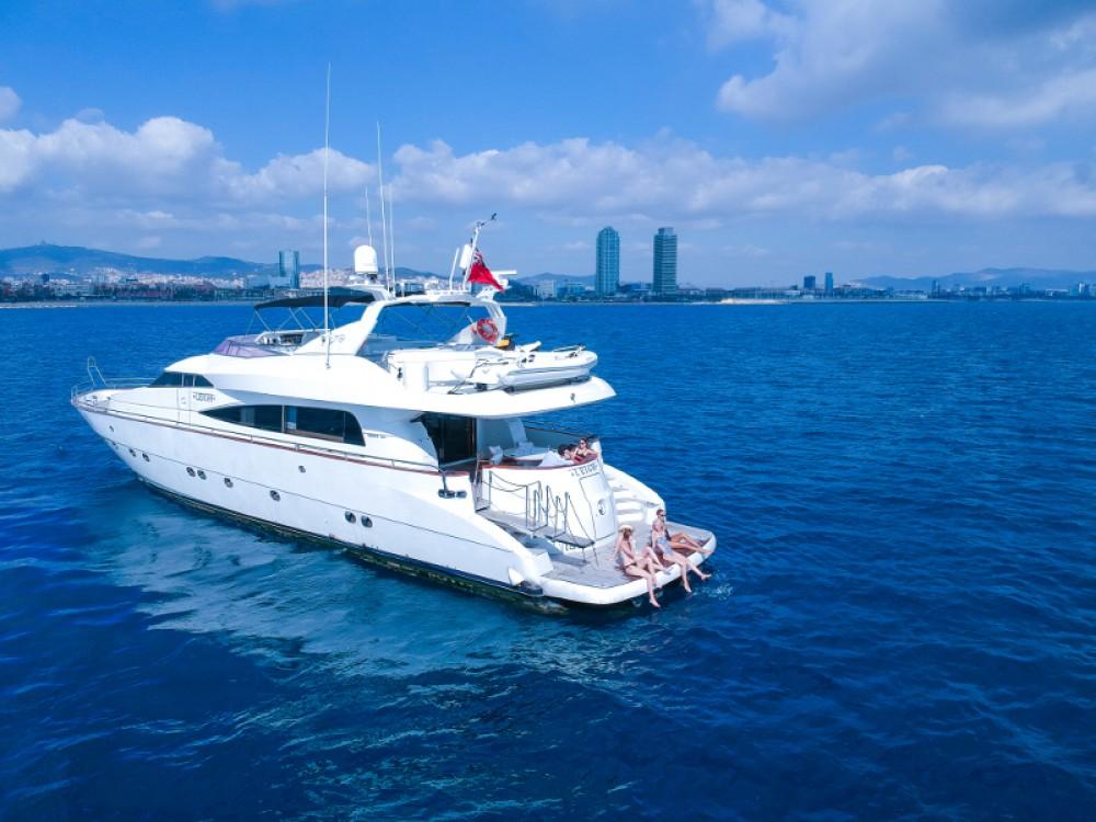 Rental Yacht Mochi with a permit