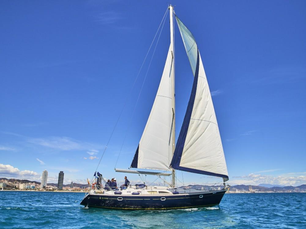 Rental yacht Gavà - Jeanneau Jenneau Sun Odyssey 45 on SamBoat