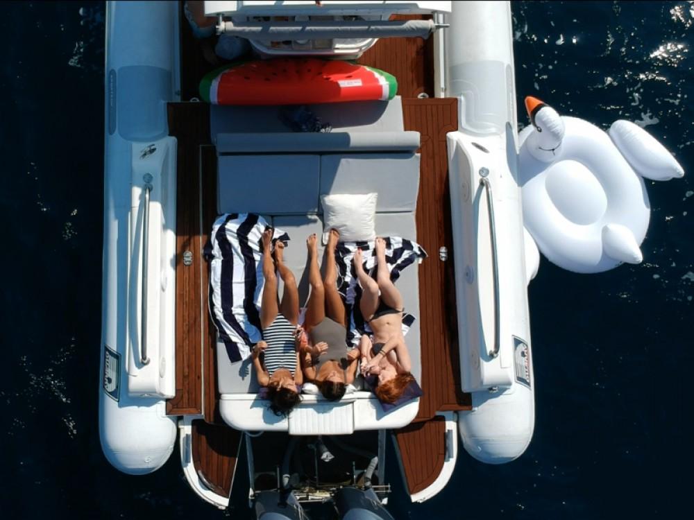 Boat rental Port Olímpic cheap Duarry Sportech 120