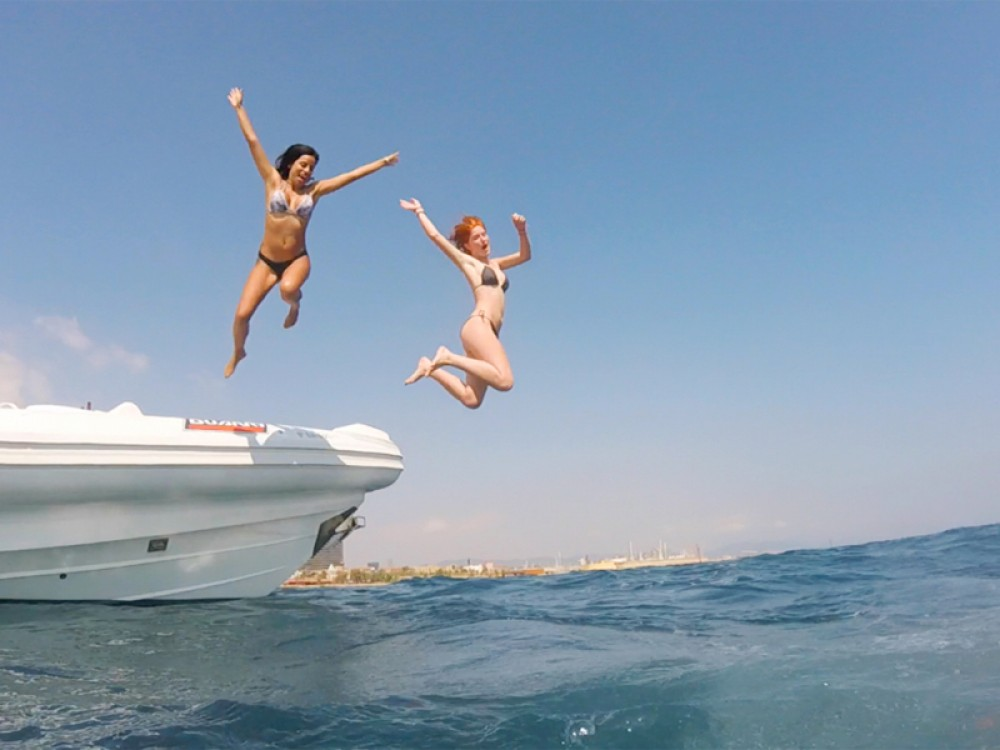 Rental Motor boat in Port Olímpic - Duarry Duarry Sportech 120
