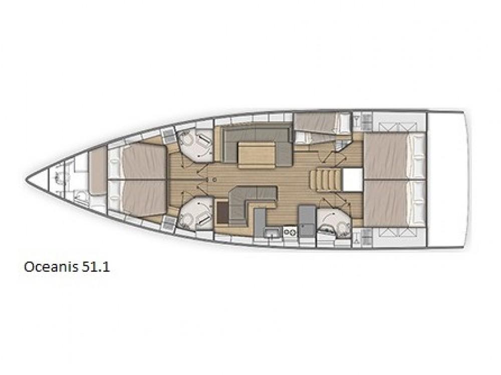 Boat rental Bénéteau Oceanis 51.1 in Álimos on Samboat