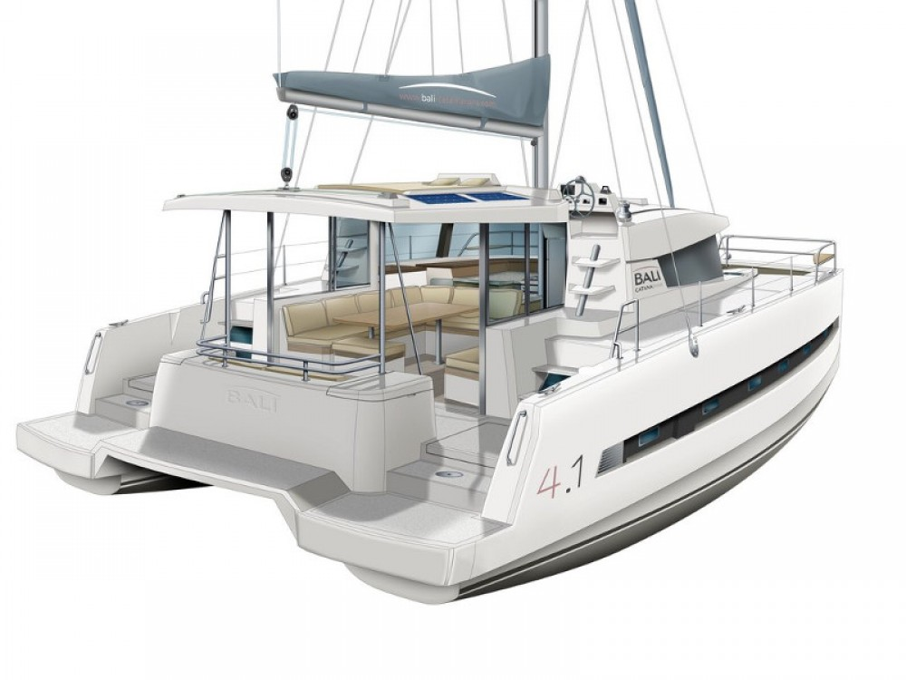 Hire Catamaran with or without skipper Bali Lefkada