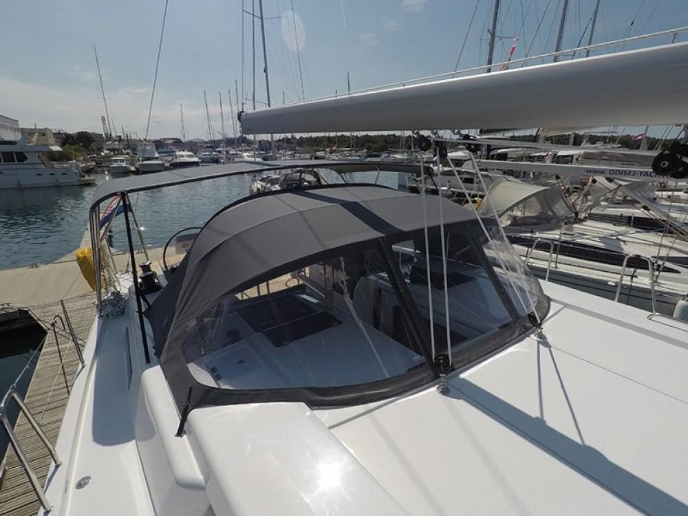 Boat rental  cheap Hanse 508