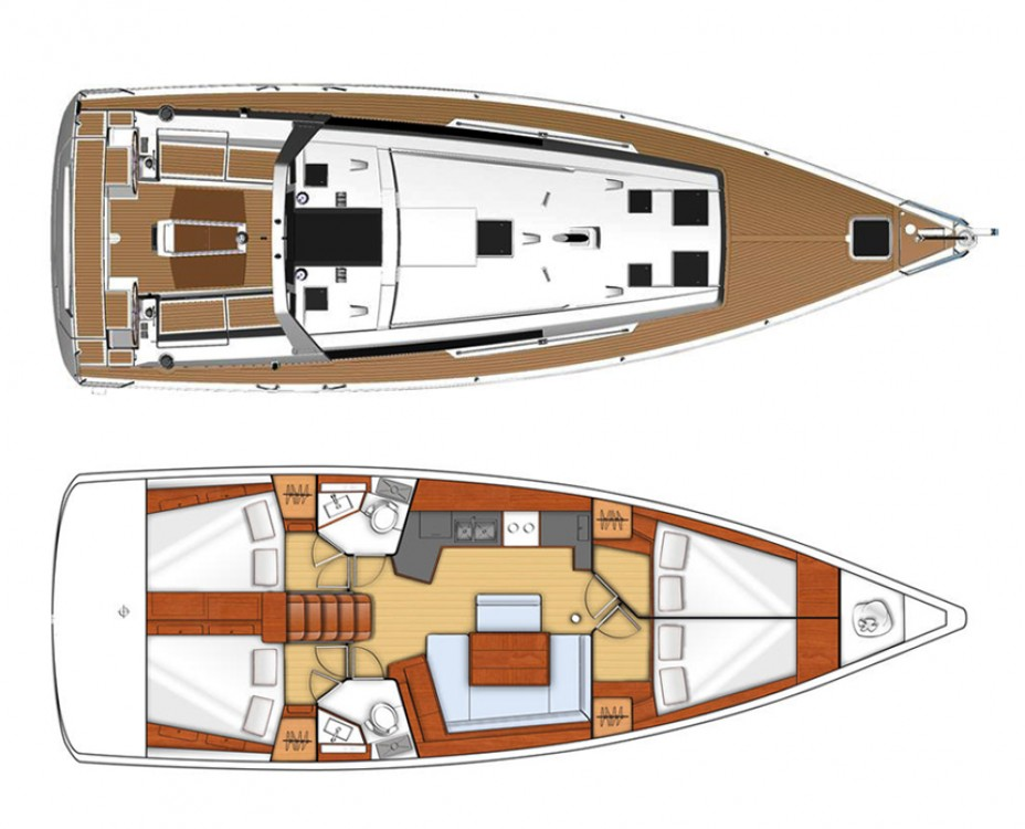 Rental Sailboat in Šibenik - Bénéteau Oceanis 45