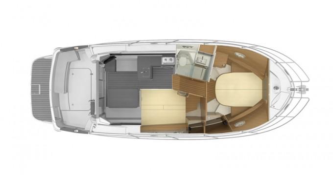 Rental Motorboat in Šibenik - Bénéteau Antares 36