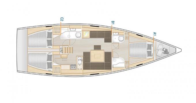 Boat rental Šibenik cheap Hanse 458
