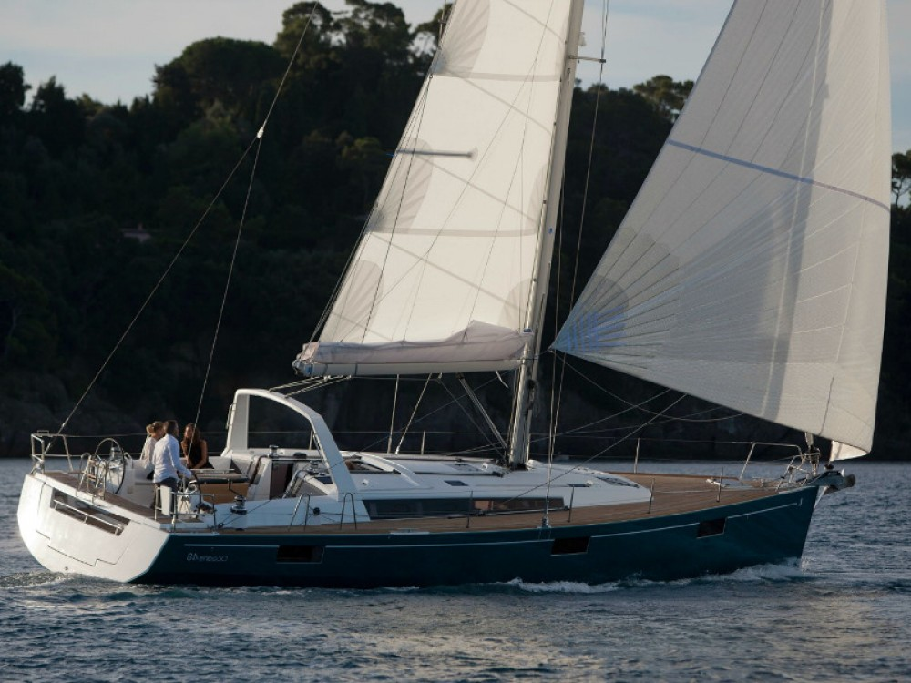 Bénéteau Oceanis 48 between personal and professional Skiathos