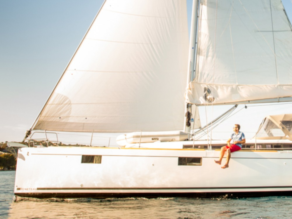 Rental Sailboat in Skiathos - Bénéteau Oceanis 48