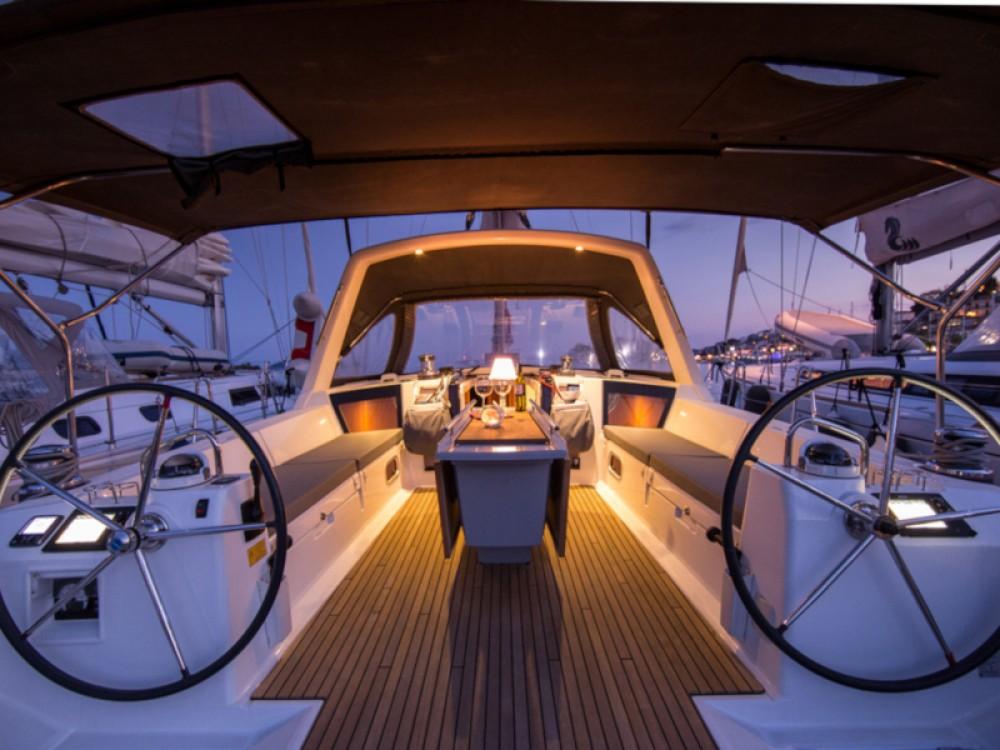 Boat rental Skiathos cheap Oceanis 45