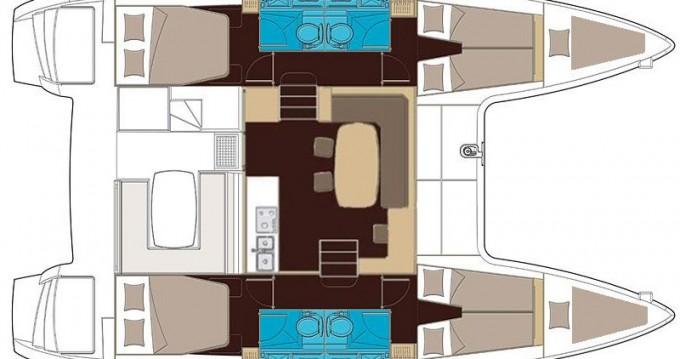 Catamaran for rent San Vincenzo at the best price