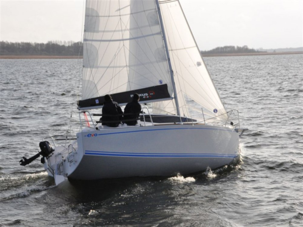 Rental yacht Port PTTK Wilkasy - Northman Maxus evo 24 Prestige on SamBoat