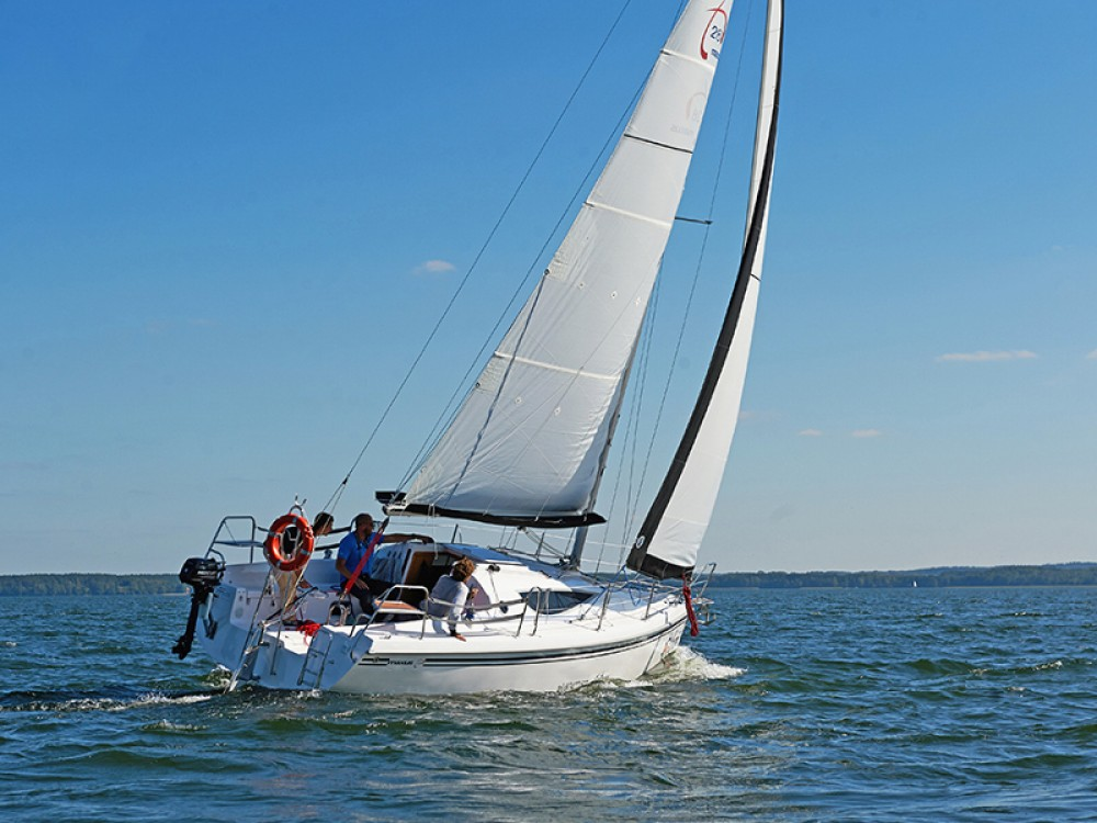 Rental Sailboat in Port PTTK Wilkasy - Northman Maxus 28 Prestige