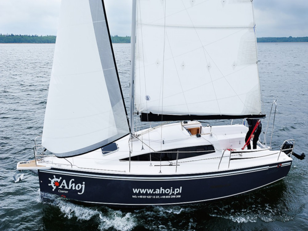 Hire Sailboat with or without skipper Northman Węgorzewo