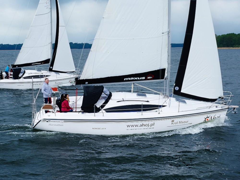 Rental Sailboat in Port PTTK Wilkasy - Northman Maxus 33.1 RS Standard