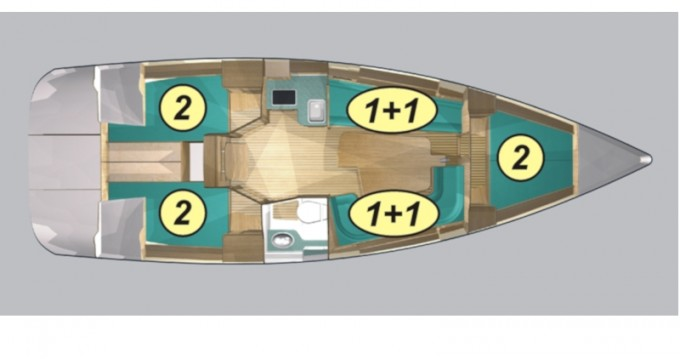 Rent a Northman Maxus 33.1 RS Standard Wilkasy