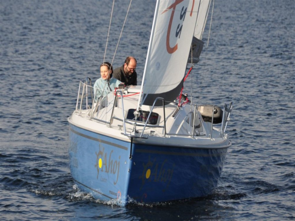 Boat rental Northman Maxus 22 Standard in Wilkasy on Samboat