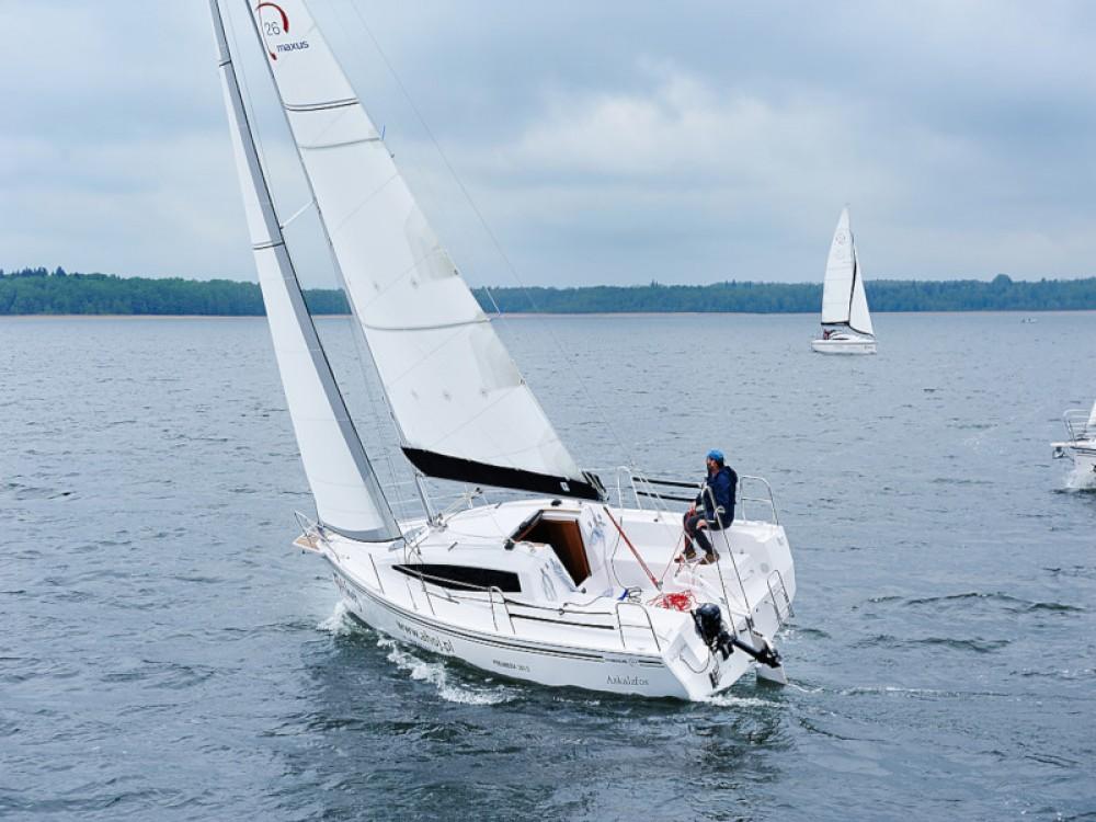 Rental Sailboat in Port PTTK Wilkasy - Northman Maxus 26 Prestige 7/2