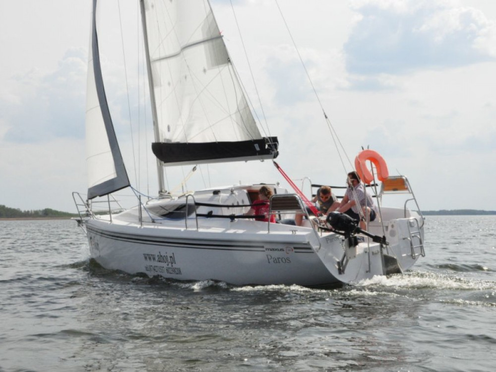 Northman Maxus 28 Prestige between personal and professional Port PTTK Wilkasy