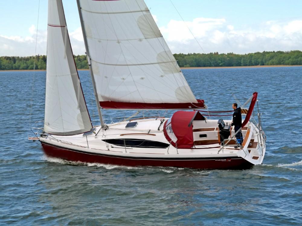 Northman Maxus 33.1 RS Prestige between personal and professional Port PTTK Wilkasy