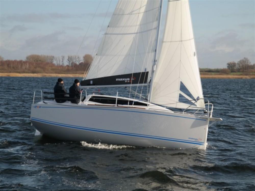 Boat rental Węgorzewo cheap Maxus evo 24 Prestige