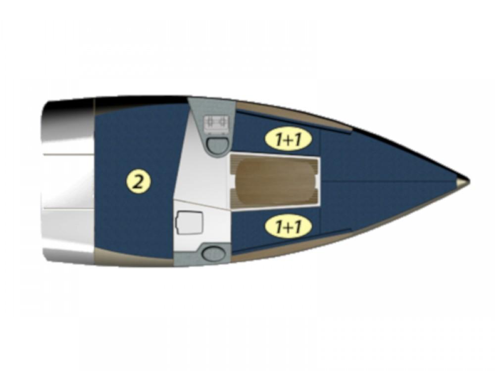 Rental yacht Port PTTK Wilkasy - Northman Maxus 22 Prestige on SamBoat