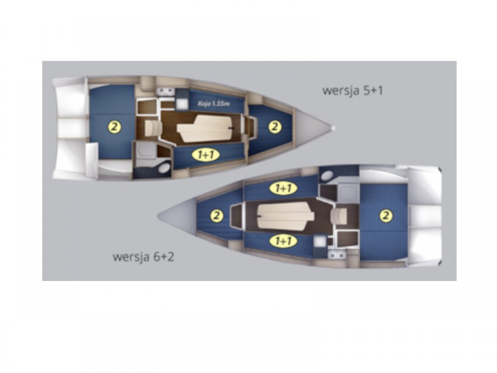 Boat rental Northman Maxus 26 Prestige + 8/1 in Port PTTK Wilkasy on Samboat