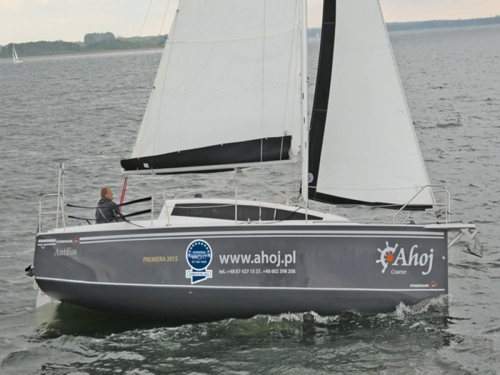 Rental Sailboat in Port PTTK Wilkasy - Northman Maxus 26 Prestige + 8/1